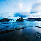 Terrigal at Sunset by Sue Nueckel