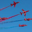Red Arrows by Gary Eason