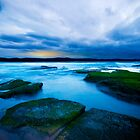 Shelly Beach Australia by Sue Nueckel