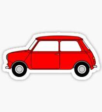 Mini Red Sticker
