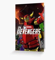 Revengers Greeting Card