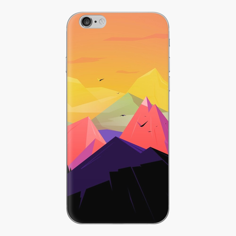 Oh the mountains iPhone Skin
