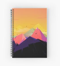 Oh the mountains Spiral Notebook