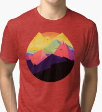 Oh the mountains Tri-blend T-Shirt