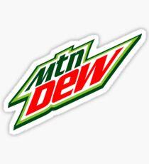 Mnt Dew Sticker
