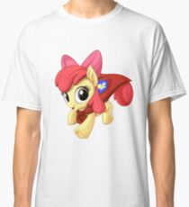 Apple Bloom Caped Crusader Classic T-Shirt