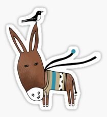 Happy Donkey Sticker