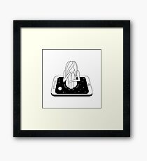 Internet Addiction Framed Print