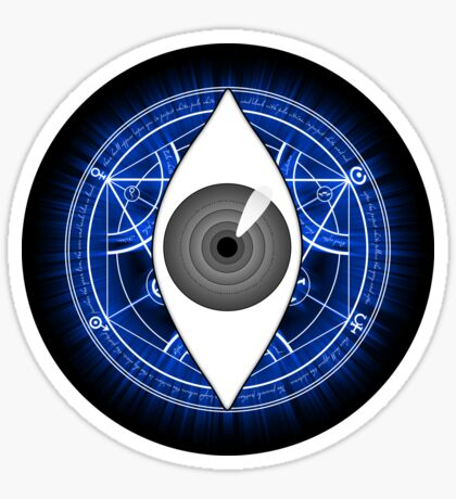 Fullmetal Alchemist Eye of Truth Sticker