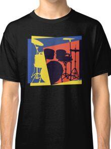 Drum Set Pop Art Classic T-Shirt