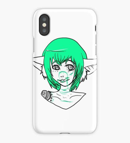 Green blood  iPhone Case/Skin