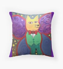 Catterfly  Throw Pillow
