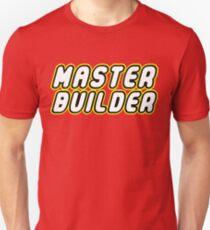 MASTER BUILDER Unisex T-Shirt