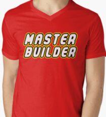 MASTER BUILDER Men's V-Neck T-Shirt