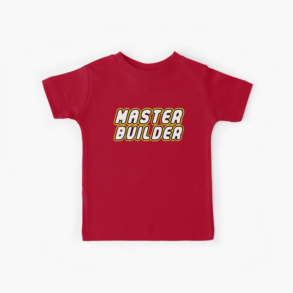 MAESTRO CONSTRUCTOR Camiseta para niños