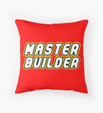 MASTER BUILDER Throw Pillow