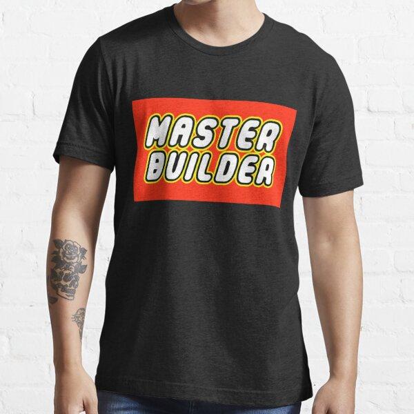 MASTER BUILDER Essential T-Shirt