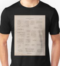 0708 Sinaitische Inschriften No 24 47 Wadi Mokatteb Gruppe A Unisex T-Shirt