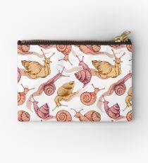 Pink snails Studio Pouch