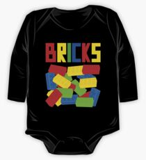 Colored Bricks [Large] by Customize My Minifig One Piece - Long Sleeve