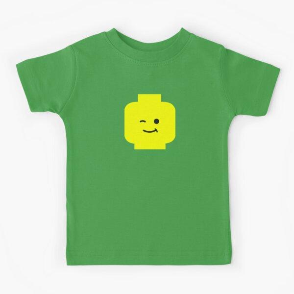 Minifig Winking Head  Kids T-Shirt