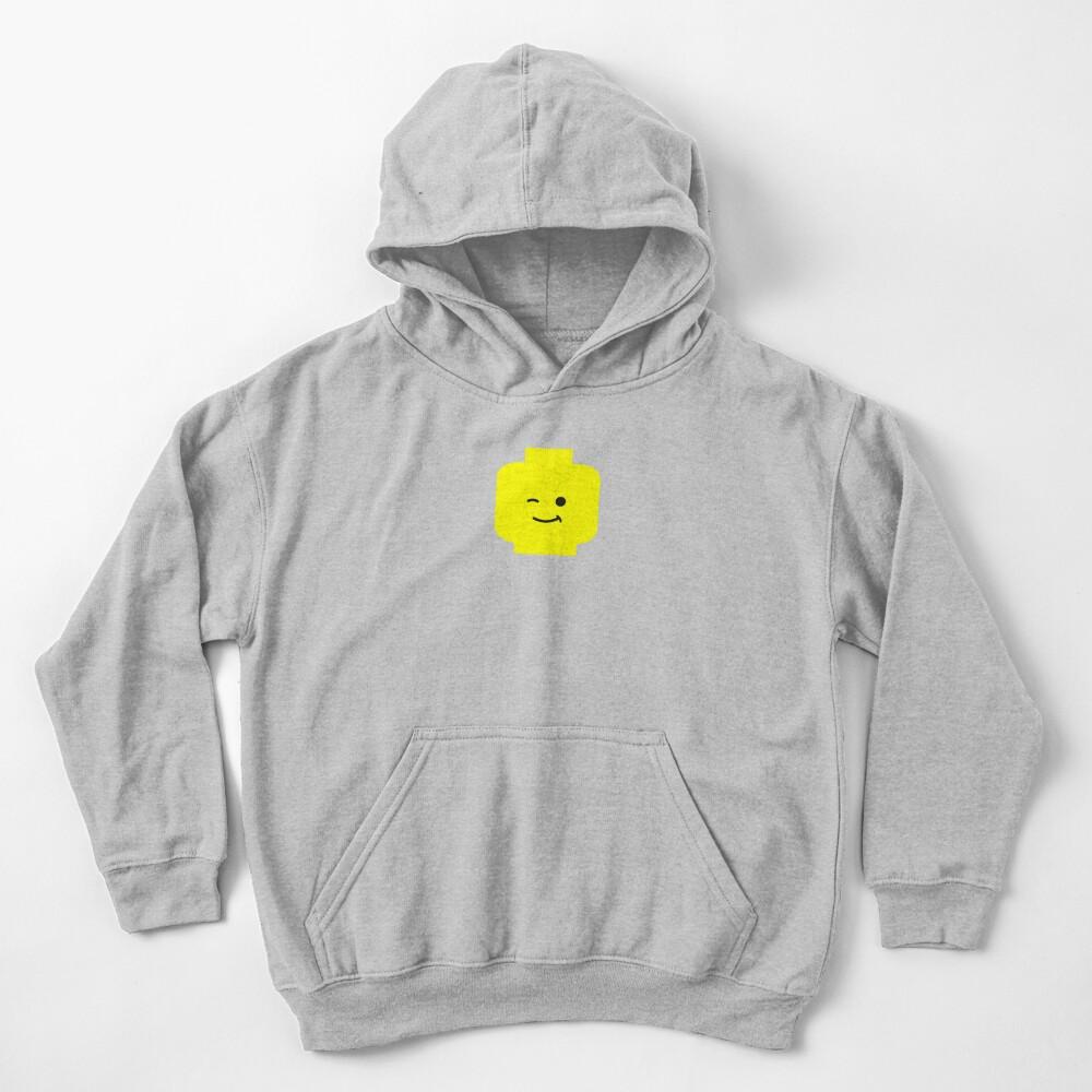 Minifig Winking Head Sudadera con capucha para niños