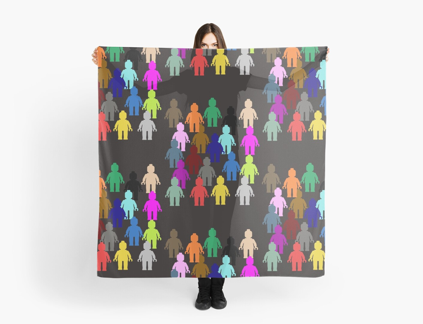 United Colors of Minifig [Large]  by Customize My Minifig