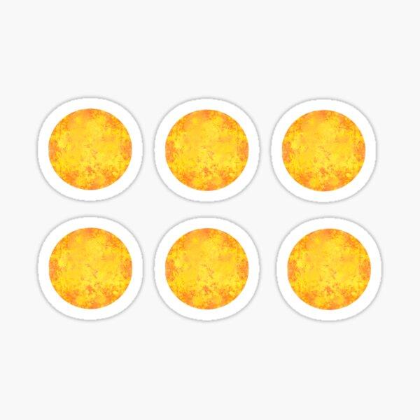 Watercolor Sun (Pack) Sticker