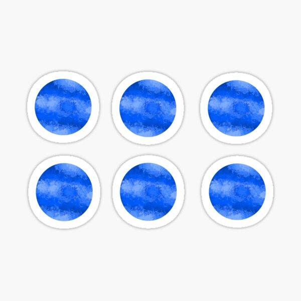 Watercolor Neptune (Pack) Sticker