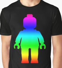 Minifig [Large Rainbow 1]  Graphic T-Shirt