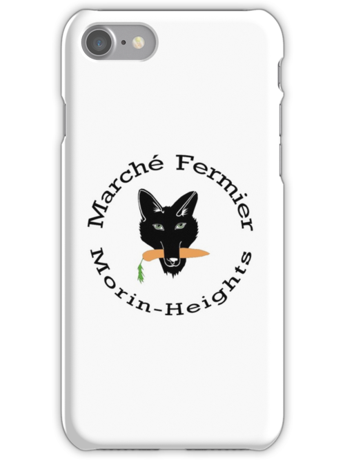 Marché Fermier Morin-Heights Coyote logo by agronomades