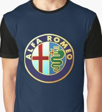 Alfa Romeo Merchandise Graphic T-Shirt