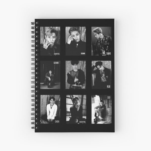 EXO - Lotto Cuaderno de espiral