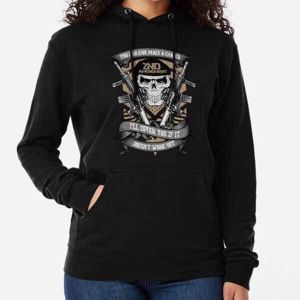 Sons Of Liberty Hoodie Sweatshirt You Can Give Peace A Chance