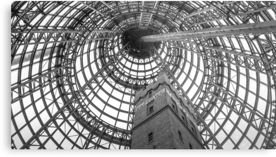 Circular Metal and the Shot Tower - Melbourne Central by sjphotocomau