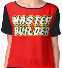 MASTER BUILDER Chiffon Top