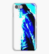 Damian Marley Blue Posterized iPhone Case/Skin