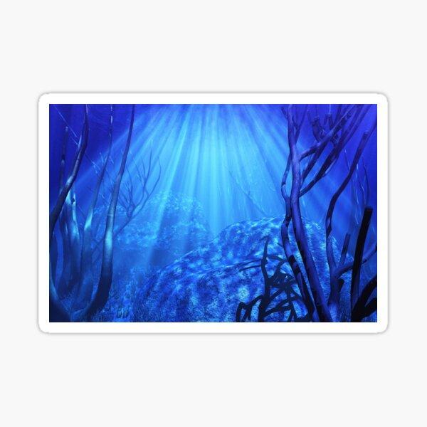 Deep Blue Ocean Sticker