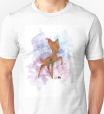 Bambi Watercolor   Unisex T-Shirt