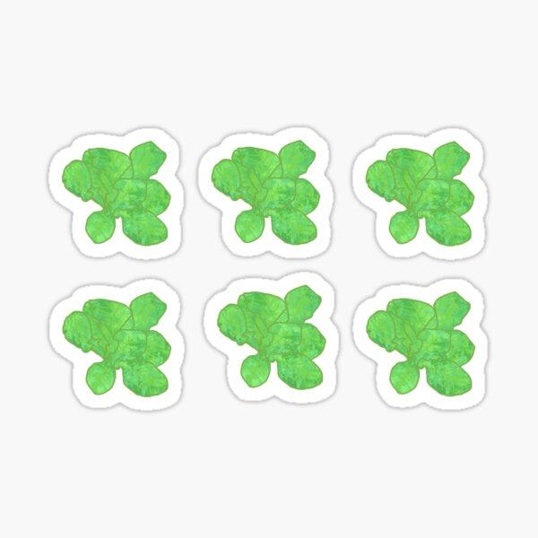 Watercolor Lettuce (Pack) Sticker