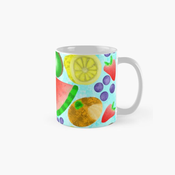Watercolor Fruits Classic Mug