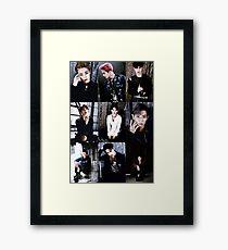 EXO Collage Framed Print