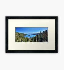 Emerald Bay, Lake Tahoe Framed Print