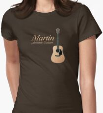Martin acoustic guitars Women's Fitted T-Shirt