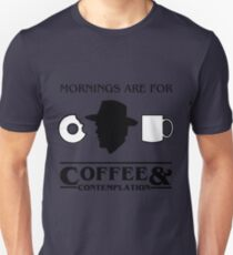 Stranger Things : Coffee & Contemplation Unisex T-Shirt