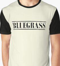 Bluegrass (black) Graphic T-Shirt