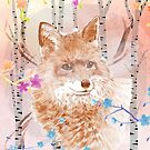 The fox in the forest by heidisuul