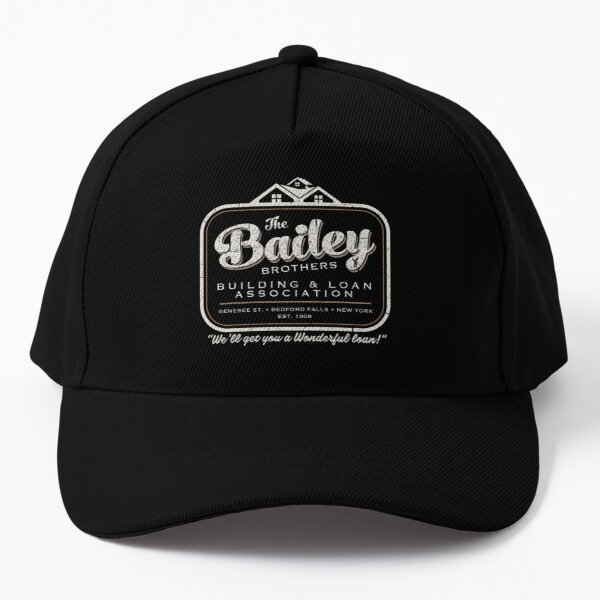 The Bailey Brothers It's A Wonderful Life Baseball Cap