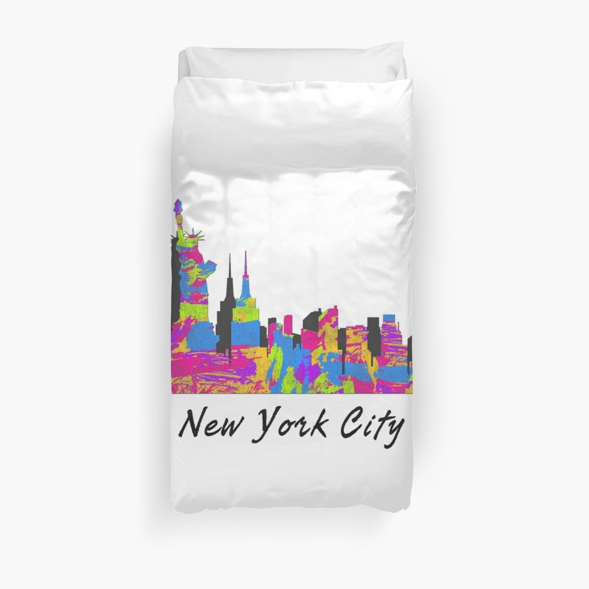 «New York City, New York Skyline» de FamilyT-Shirts