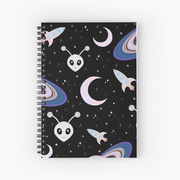 Pastel Space Spiral Notebook